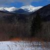 Mt Washington, NH from Crawford Notch