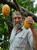 Roland Müller, fazenda Vera Cruz, cooperativa Cabruca, Una, Bahia, Brazil, August 6, 2009. (Austral Foto/Renzo Gostoli)