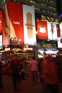 motion -  New York, Time Square