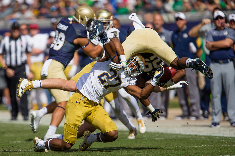 Notre Dame vs. Navy football