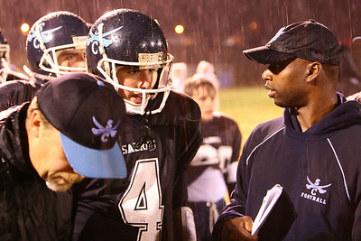 Southside Christian endured a wet homecoming.