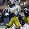 Notre Dame vs. Michigan State University football