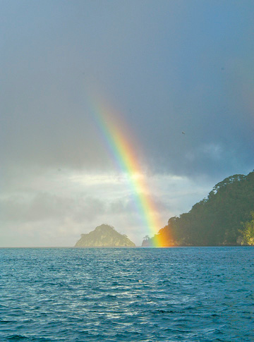 Rainbow Cocos Island