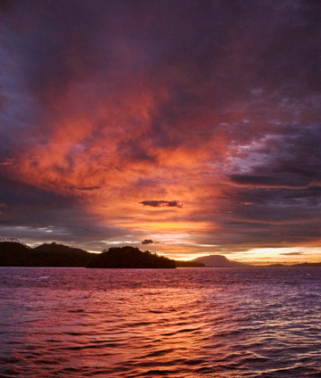 Papua New Guinea Sunset