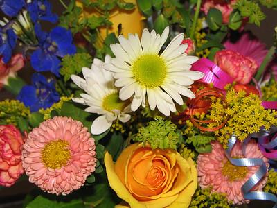 A flower bouquet!