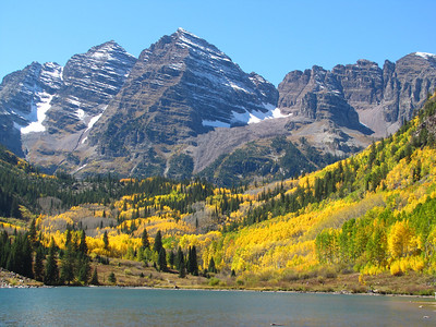 Maroon Lake - Maroon Bells Wilderness - Colorado