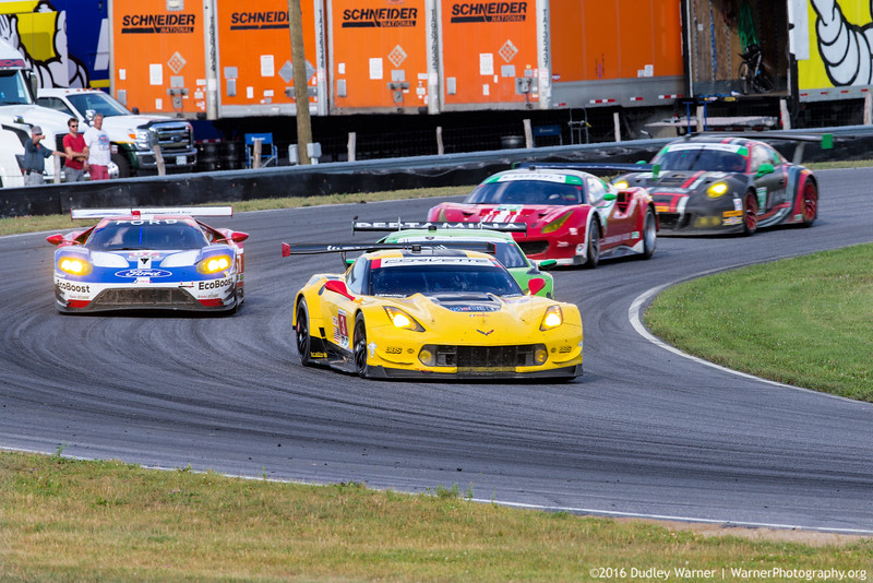 Corvette, Ford GT, Ferrari, Porsche