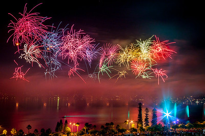 Australia Day Fireworks, Perth