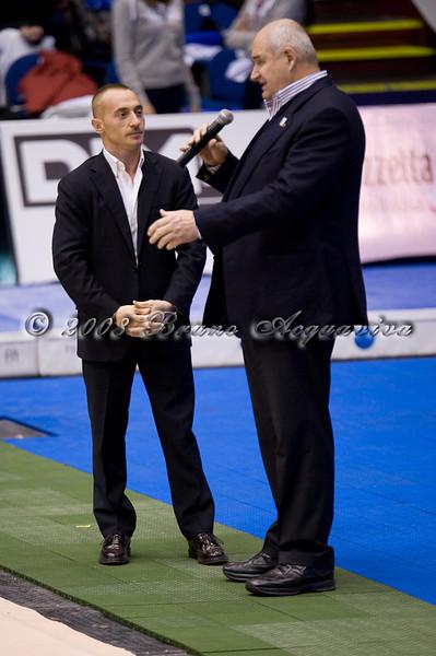 Yuri Chechi con<br /> Assessore sport Lombardia Dott. Prosperini