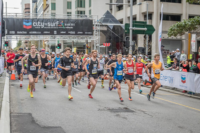 City to Surf 2015 - Start of the 12km