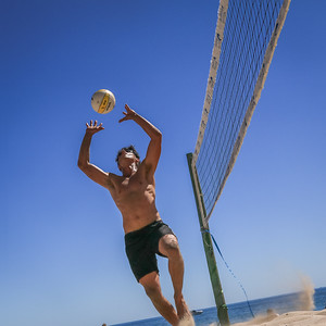 Beach Volleyball at Cottesloe Beach