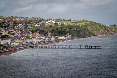 Teignmouth Pier in Devon