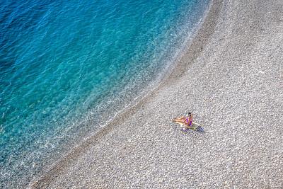 Beach at Nice, France