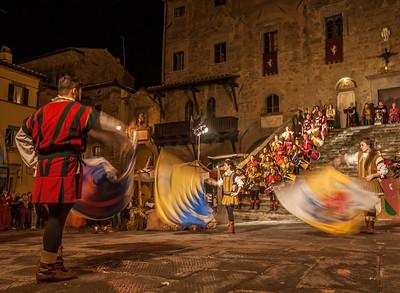 Medieval Festival in Cortona, Italy