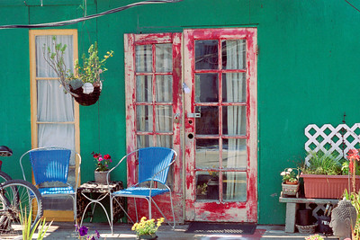 Front Porch of a Houseboat