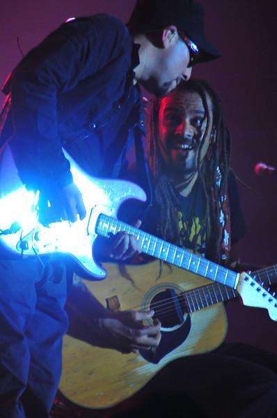 Dave Shul and Michael Franti, Spearhead, Sun Valley Music Festival, Ketchum, Idaho 2008