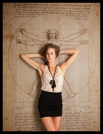 Model: Loren Wilson, Campbell Agency represented model<br /> Daniel Driensky © 2011