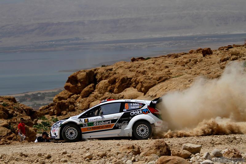 ostberg m andersson j (nor) ford fiesta RS WRC jordanie (JL) 2