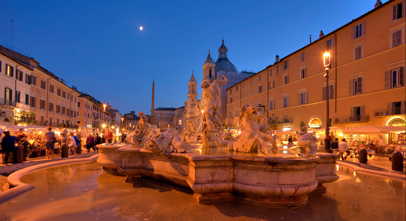 The Piazza Navona