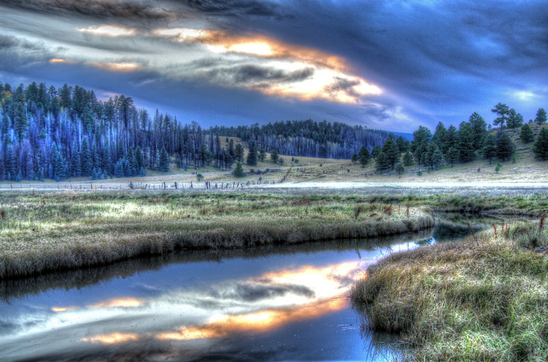 Crosby Crossing, Apache National Forest, AZ (Oct 2013, HDR)