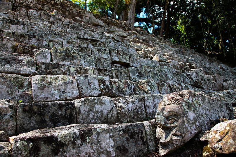 Steps of the ruins - Honduras
