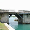 Somerset Bridge, the world's smallest drawbridge.  Only the mast of a sailboat can fit through.