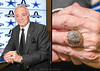 Jerry Jones, Owner of The Dallas Cowboys<br /> And His 1992 Super Bowl Championship Ring<br /> Photos © Daniel Driensky September 2012