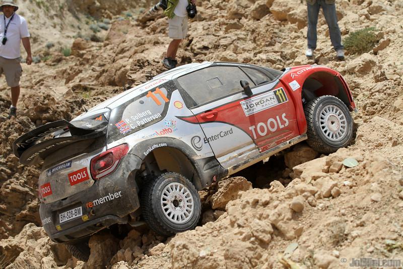 solberg p patterson c ( nor gb) citroen DS3 WRC jordaniel crash (j lillini) 29