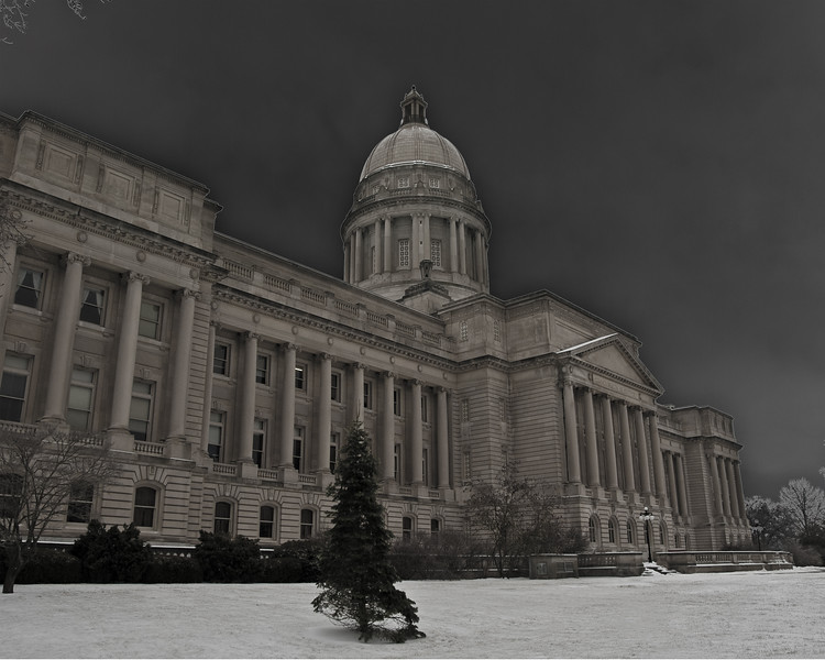 Dark Sky's over the State Capital