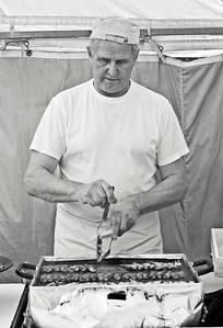 Grilling Muikkuja