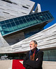 'Thom Mayne, AIA Gold Architect and Prisker Prize Winner with his project The Perot Museum, Dallas Texas'