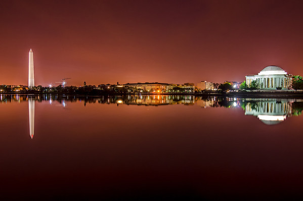 Predawn at the Tidal Basin