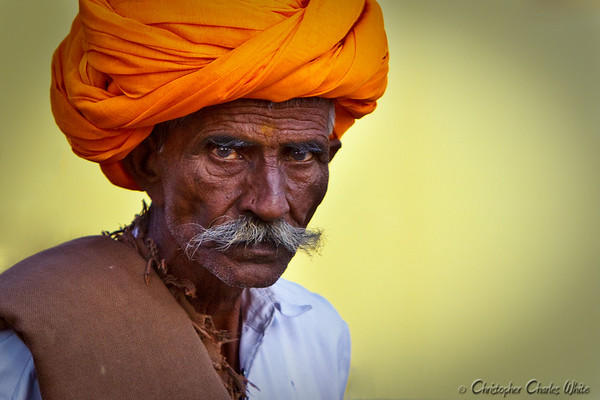 Man at Pushkar India-6