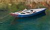 Nile fishing boat