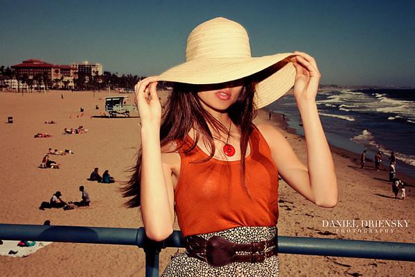 'Natascha On Santa Monica Pier'<br /> Daniel Driensky © 2011