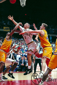 Jason Kidd Pretzel Shot vs LSU. NCAA Tournament. March 18, 1993