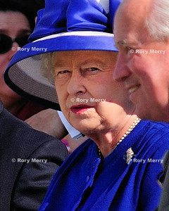 Queen Elizabeth II of England at Guards Polo Club  England