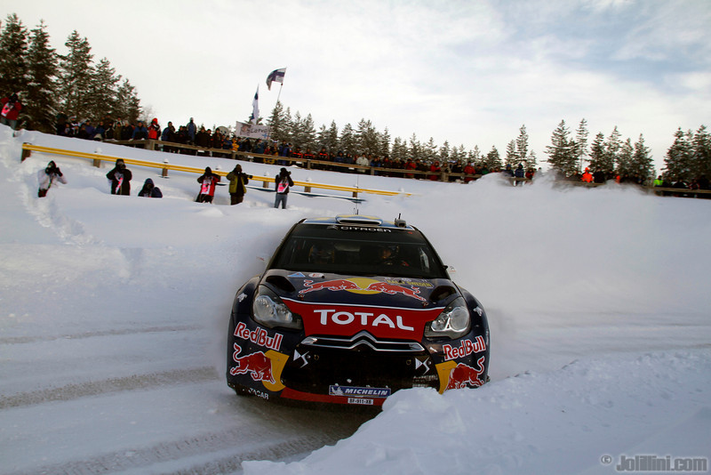 2 ogier s ingrassia j (fra) citroenDS3 WRC 12