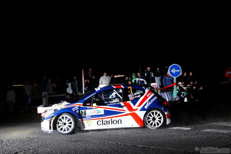 Guy Wilks (GBR) Phil Pugh (GBR) Peugeot 207 S2000, Peugeot UK