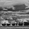 Very Large Array or VLA radio telescopes west of Socorro, New Mexico