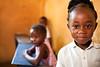 Schoolgirl in Nairobi