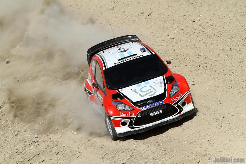 villagra f perez companc (ra) ford fiesta RS WRC jordanie (JL) 61
