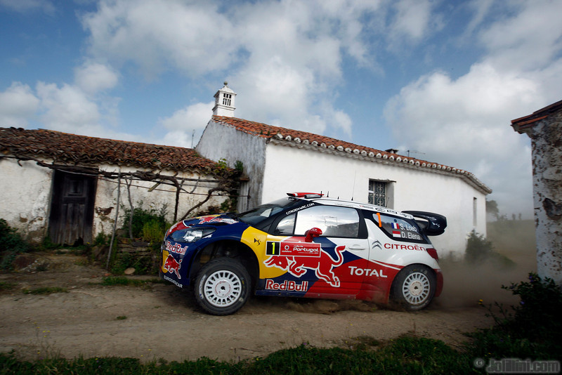 01 loeb s elena d (fra mc) citroen DS3 WRC portugal 21