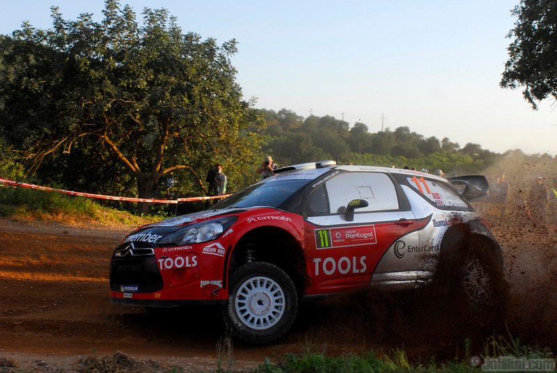 11 solberg p patterson c ( nor gb) citroen DS3 WRC portugal 09