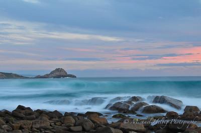 Sugarloaf Rock Sunset - Yallingup Western Australia