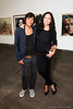 'Inez van Lamsweerde and Vinoodh Matadin (Inez and Vinoodh), Dutch Fashion Photography Duo'<br /> at their exhibit at The Dallas Contemporary, 9/2012<br /> Photo © Daniel Driensky