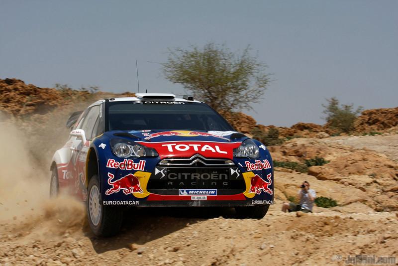 ogier s ingrassia j (fra) citroen DS3 WRC jordanie (jl)8