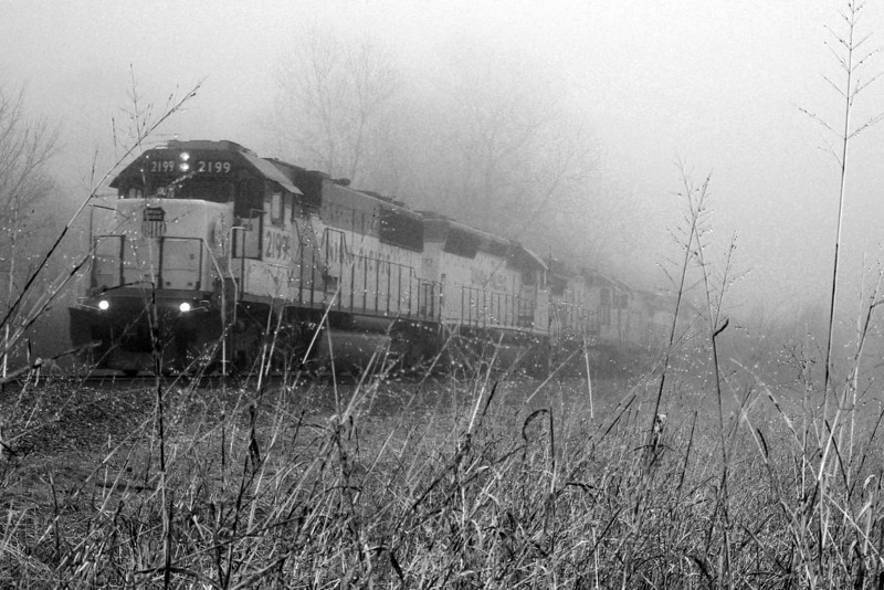 Foggy Train, Mesquite, TX (Jan 2007)