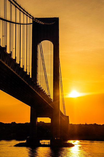 Sunshine on the Verrazano