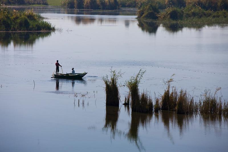 Fishermen on The Nile
